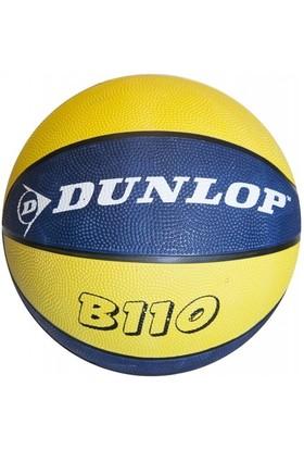 Dunlop B110 Sarı-Lacivert Basketbol Topu - No : 7