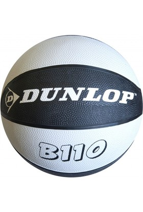 Dunlop B110 Siyah-Beyaz Basketbol Topu - No : 7
