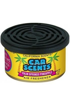 California Car Scents Palm Springs Pineapple Ananas Araba Kokusu