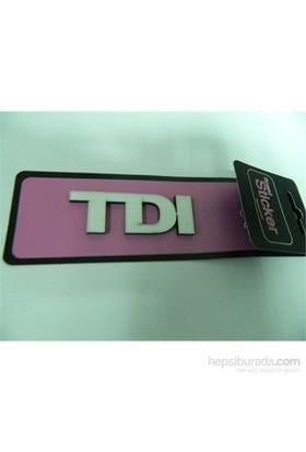 Speed Tdi Sticker 7x2cm