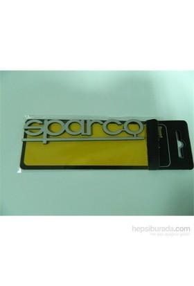Speed sparco Sticker 13x3cm Gri