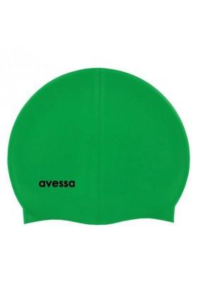Avessa Deluxe Silikon Yüzücü Bonesi Yeşil