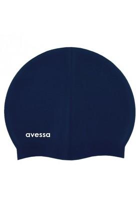 Avessa Deluxe Silikon Yüzücü Bonesi Lacivert