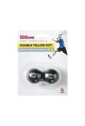 Wilson Wrt 617600 2 Lı Cıft Sarı Staf Squ.Topu