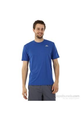 Kappa 1 302Y48 H39S Erkek Boyuna Çizgili Poly T-Shirt Saks