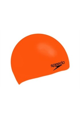 Speedo Slicone Mould Turuncu Yüzücü Bone SP8709841911