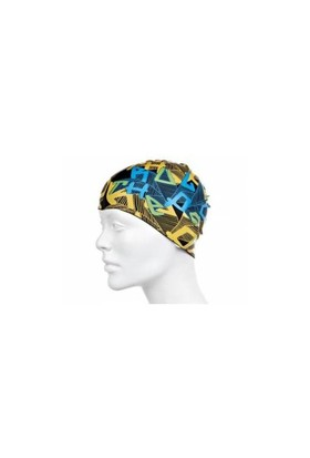 Speedo Slogan Print Jr. Cap Silikon Bone