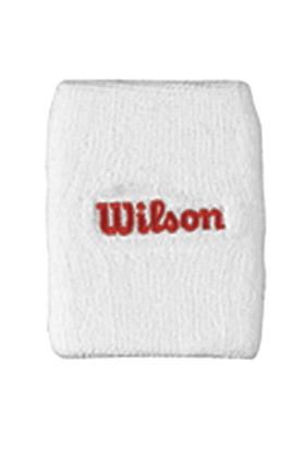 Wilson Nakışlı Bileklik Çiftli Beyaz wra5600301000