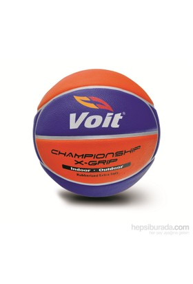 Voit Xgrip Basketbol Topu N:7 Sarı-Lacvert