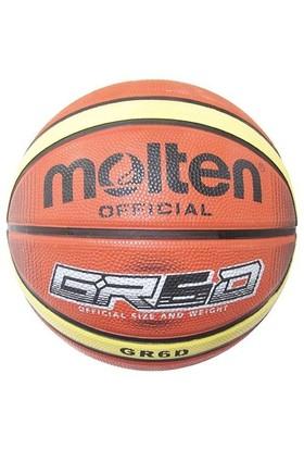Molten Gr6d Turuncu Bej Kauçuk 7 No Basketbol Topu