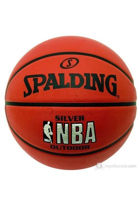 Spalding Basketbol Topu NBA Silver Outdoor N:7 83-016Z ( 73-285 )(63-761)