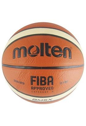 Molten Bgmx5 Fıba Onaylı Deri 5 No Basketbol Topu