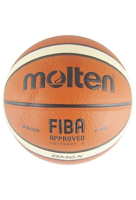 Molten Bgmx6 Fıba Onaylı Deri 6 No Basketbol Topu