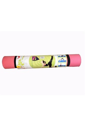 Cosfer Pilates Minderi & Yoga Mat 4mm CSF13 - Pembe