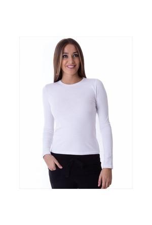 Ayyıldız 59419 Beyaz Uzun Kollu T-Shirt