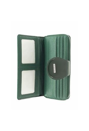 Cengiz Pakel Bayan Cüzdan Rugan Yeşil 65185