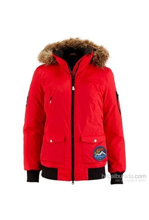 Bpc Bonprix Collection Kapüşonlu Fonksiyonel Outdoor Ceket Kırmızı