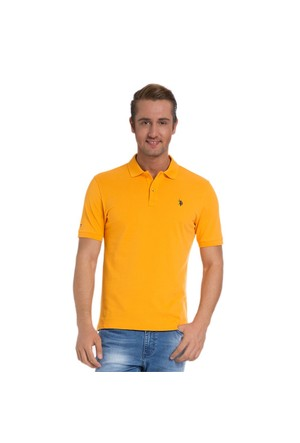 U.S. Polo Assn. Erkek Turuncu T-Shirt