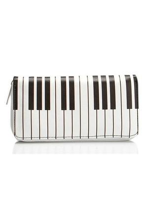Köstebek Piyano Tuşları Uzun Cüzdan