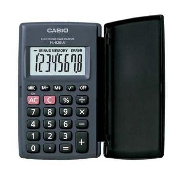 Casio HL-820LV Cep Tipi 8 Hane Hesap Makinesi Fiyatı