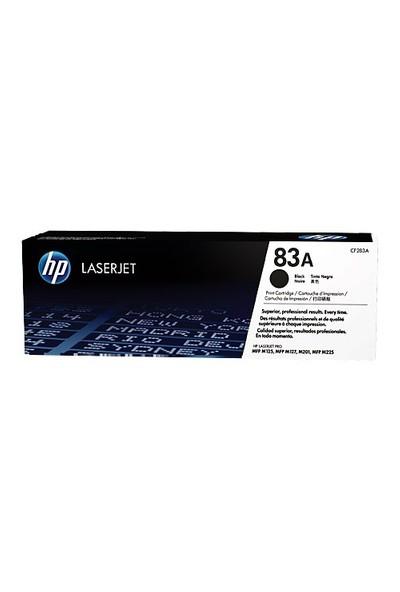 HP 83A 1500 Sayfa Kapasiteli Siyah Toner CF283A