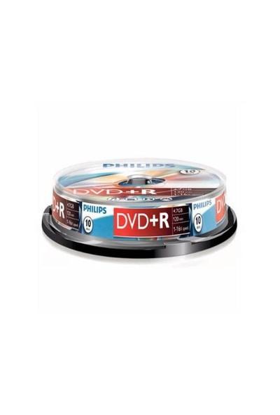 Philips DVD(+R) 4,7GB 16X 10'lu Cakebox