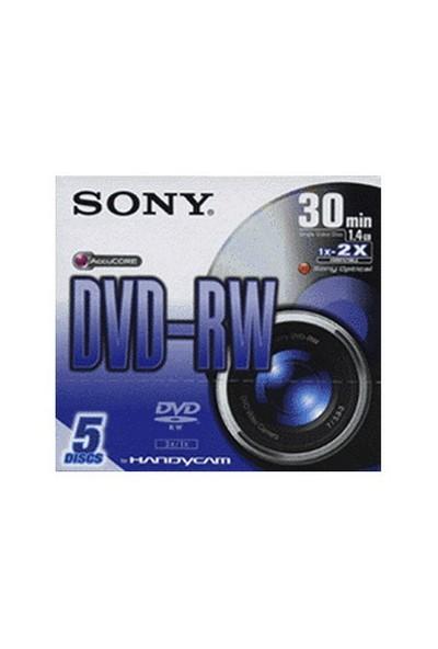 Sony 5Dmw30s2 30Dk 8Cm Dvd-Rw 5'Li Paket