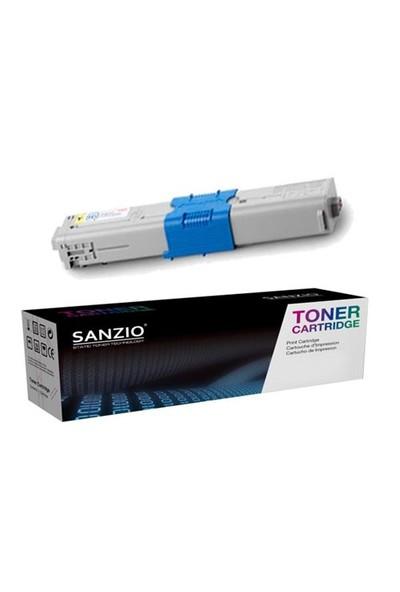 Sanzio Oki C301 Sarı Muadil Toner