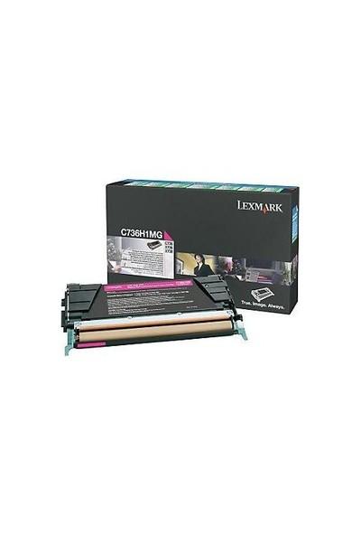 Lexmark C736h1mg Kırmızı Toner 10.000 Sayfa