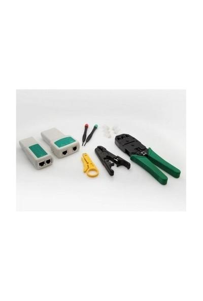 S-Link Sl-825W Pense+Kablo Tester Ve Siyirici Set