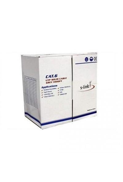 S-Link Sl-Cat608 Cat6 24Awg Cca 305Mt Kablo