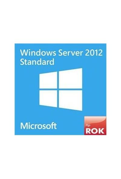 Microsoft Hp 748921-021 Ms Wındows Server 2012 Standard R2 Rok Tu