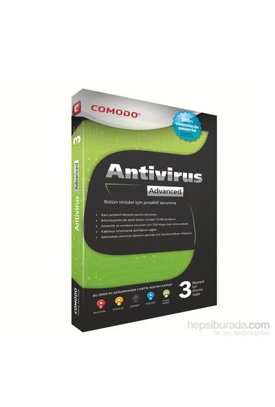 Comodo Antıvırus Advanced 3 Kullanıcı