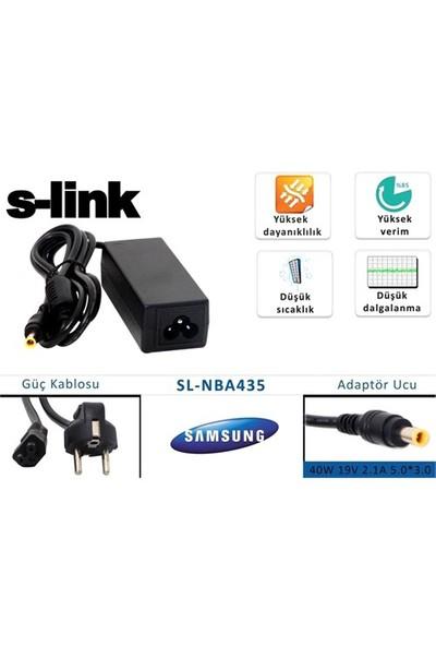 S-Link Sl-Nba435 40W 19V 2.1A 5.0*3.0 Samsung Notebook Standart Adaptör