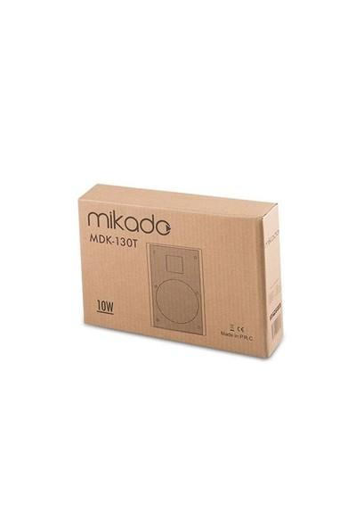 Mikado Düz Duvar Tipi Hoparlör 10W Mdk-130T Beyaz