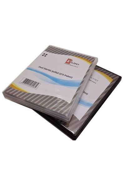 Dvd Dörtlü Kutu 5'Li Paket
