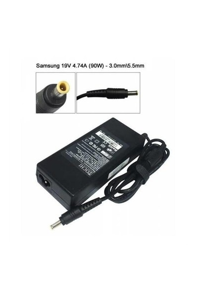Samsung 19V 4,74A Netebook Adaptör Şarj Aleti