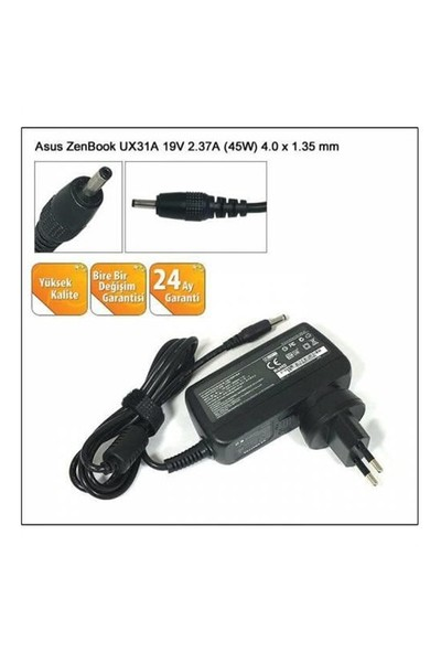 Asus 19V 2.37A (4.0-1.35) Versatil Notebook Adaptörü