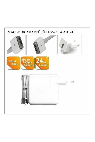 Macbook Adaptörü 14.5V-3.1A Ad124