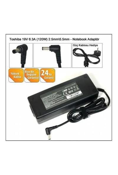 Toshiba 19V 6.3A 5,5*2,5 Notebook Adaptör Şarj A