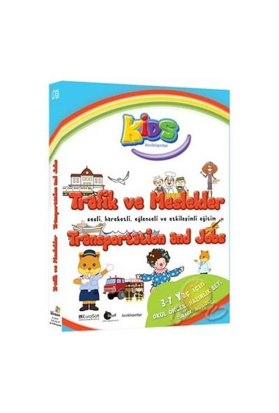 Kids Ansiklopedya Trafik Ve Meslekler