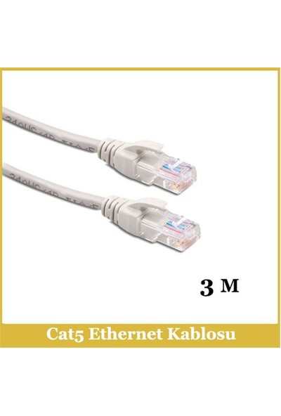 Ti-Mesh Cat5e Network Kablo Od5.5 7/0.12 Cl*8C - 3M