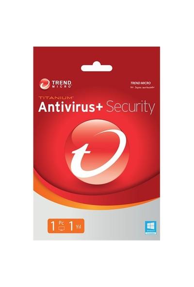 Trend Micro Titanium Antivirüs 1 Kullanıcı 1 Yıl (TI00239846D)