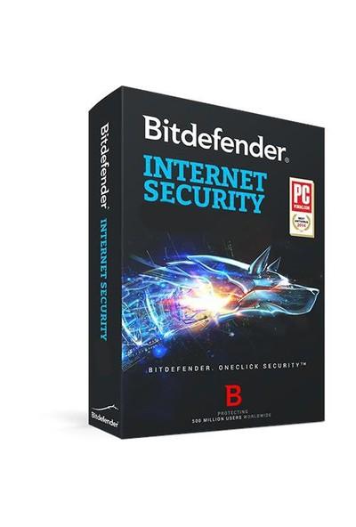 Bitdefender Internet Security 3 Kullanıcı 1 Yıl