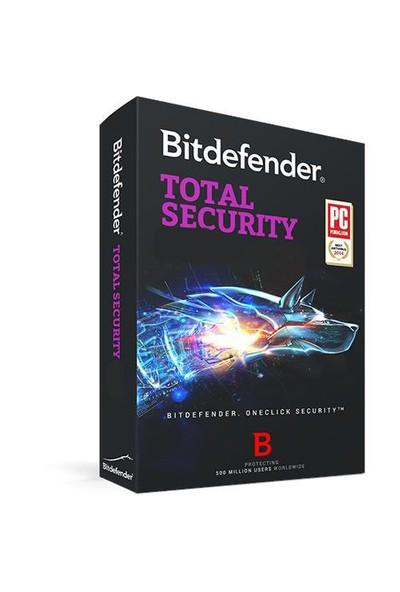 Bitdefender Total Security 1 Kullanıcı 1 Yıl