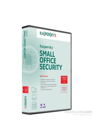 Kaspersky Small Office Security 6.0 (1 Server + 10 PC + 10 MD) 1 YIL