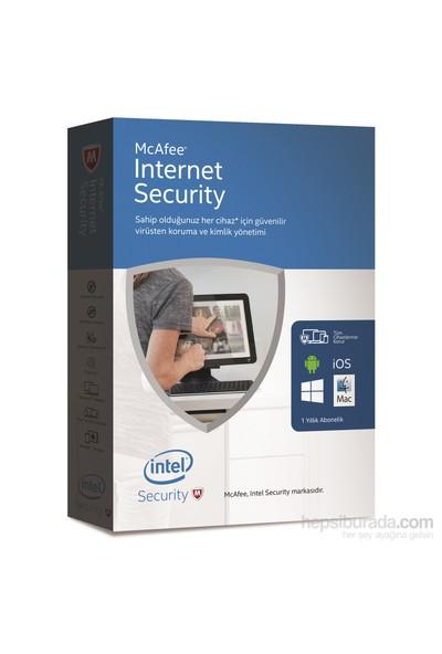 McAfee Internet Security 2016 Türkçe 10 Kullanıcı 1 Yıl