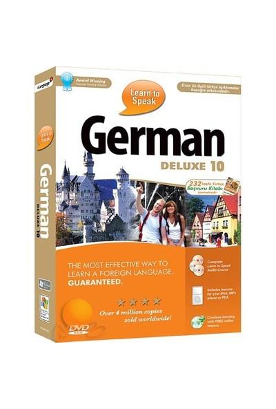 Learn To Speak German Deluxe 10