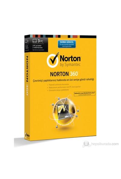 Symantec Norton 360 3 Bilgisayar 1 Yıllık Koruma Yeni Versiyon