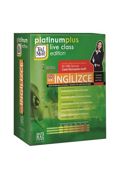 Tell Me More Platinum Plus Live Class İngiliz İngilizcesi-Giriş+Başlangıç+Orta+İleri+İş+İş Plus Düzeyi (41 CD ROM)